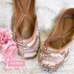Pink Blush Juttis