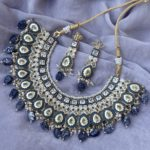 Niloufer Meenakari Necklace Set