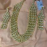 Saina Four Layer Kundan Necklace Set