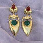 The Golden Spade Earrings_1