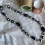 Merissa Long Grey Pearl Necklace_front