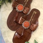 Sunshine Boho Brown Kolhapuris